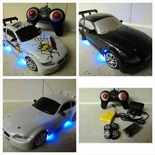 BMW Z4 Coupe stile TELECOMANDO AUTO RICARICABILE Drift RC AUTO 4WD 1 / 24