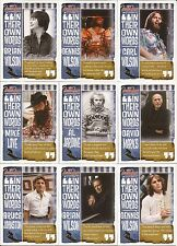 Panini The Beach Boys Complete 14 Card In Their Own Words Gold Surfer Insert Set
