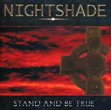 NIGHTSHADE - Stand and be true CD(ex-Q5)