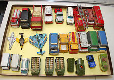 Vintage Lot of 28  Dicast Cars & Jets: Tootsietoy, ERTL, Matchbox and more