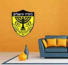 "Beitar Jerusalem FC Israel Football Soccer Wall Decor Sticker Decal 20""X25"""