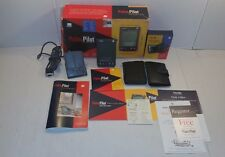 Palm Pilot Professional w/ Sync Dock Stylus 2 Cases Manual Box CD 3 Com
