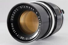 [Exc++] Olympus E.Zuiko Auto-T 100mm f/3.5 Lens for Pen F from Japan #5348