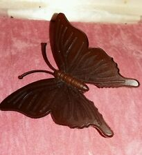 Vintage Celluloid Large Butterfly Brooch/Pin - collectable