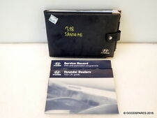 Owners Manuals- 02 Hyundai Santa Fe 2.4 Ref.318