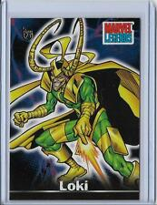 2013 Topps 75th Anniversary Buyback #60 Marvel Legends   Loki   Thor   2001
