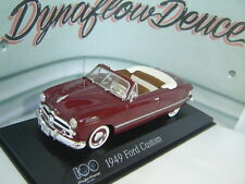 Minichamps 1 43 1949 Ford Custom 100 Year Anniversary Heart & Soul FREE SHIP!