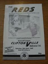 28/04/1990 Cliftonville v Ballymena United  (No obvious faults)