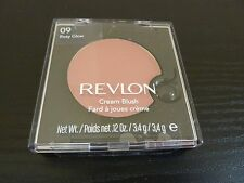 Revlon Cream (Creme) Blush - ROSY GLOW #09 - Brand New / Sealed
