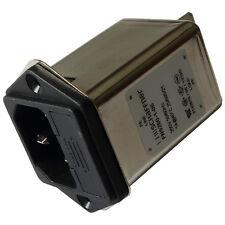 Schaffner FN9260-1-06 Netzfilter 250V AC 1A IEC Inlet-Filter Fuseholder 855202