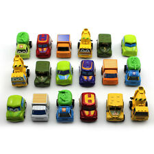 6Pcs Mini Plastic Car Truck Vehicle Toys Baby Children Hot Gift Pull Back Model