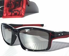 NEW* OAKLEY CHAINLINK TROY LEE Black w BLACK Iridium Lens Sunglass 9247-19 $180