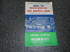 1954 F.A.CUP FINAL :  PRESTON NORTH END  v  WEST BROMWICH ALBION - EBAY BESTDEAL