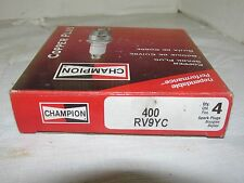 4 Pack of Champion Copper Spark Plugs RV9YC NOS LQQK!