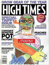 High Times September 2016 #09, Special Trippy Issue, Brand New Sealed