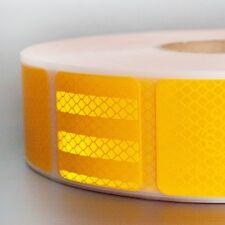 25m Diamond Grade™ 987 / UN ECE R 104 / Reflexfolie gelb LKW Planen / Geocaching