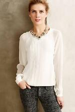 New Anthropologie Anisy Pullover Sz L  (12 14) NIP Sheer Top by One Fine Day