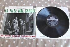 La Fille Mal Gardee Lanchbery TAS HP Decca Stereo WBG ED1 SXL 2313 UK Rare LP