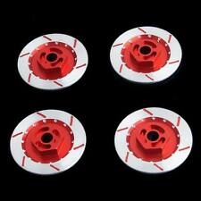 RC 1:10 HSP HPI Sakura Drift Car Aluminum Wheel Brake Disc 4P N10075 Red Part