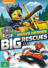 PAW PATROL - BRAVE HEROES BIG RESCUE english artwork -  DVD - UK Compatible -