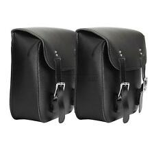 Motorcycle PU Side Saddle Bags For Honda Shadow VT ACE Aero Sabre Spirit VLX 600
