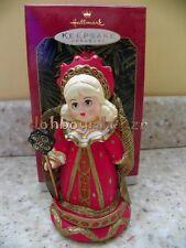 Hallmark 1999 Red Queen Alice in Wonderland Madame Alexander Christmas Ornament