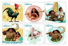 12 Disney Moana Movie Stickers Kid Party Goody Loot Bag Filler Favor Supply