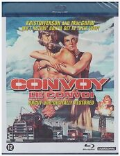 CONVOY (1978 Kris Kristofferson) Uncut/Restored Blu Ray - Sealed Region B for UK