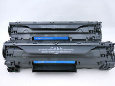 2 Pack 125 Black Toner Cartridge for Canon ImageClass LBP6000 LBP6030w MF3010