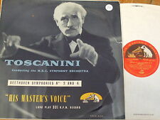 ALP 1145 Beethoven Symphonies Nos. 2 & 4 / Toscanini R/G