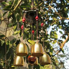 5 Glocken Windspiel Klangspiel Natur Windharfe Perfekt Haus Garten Dekration