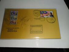 2014 love 50 malaysia series melaka 21-22-May fdc with steel cache.b