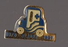 Pin's Ambulances et Taxis Flippe à Seurre (Cote d'or)