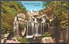 C1910 View of People at the Waterfall, Madeira Walk, Ramsgate