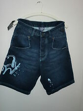 Mahagony, Herren-Miro Short, Gr. 30, medium blue, Baumwolle