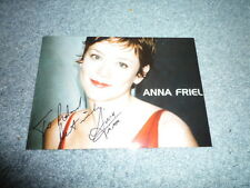 ANNA FRIEL  signed Autogramm 10x15 cm In Person PUSHING DAISIES