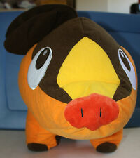 Pokemon Tepig Pig Plush Toy Factory 2011 free shipping orange and brown red nose
