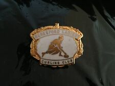 insigne badge broche sport curling ice beresford ladies  email