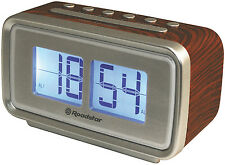 Roadstar CLR-2285/WD Retro Design Radio clock with Digital Flip LCD Display