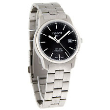 Tissot Mens Titanium PR100 Black Dial Bracelet Quartz Watch T049.410.44.051.00