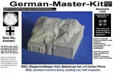 350087, Beladung für einen RSO (Raupenschlepper Ost), 1:35 Resin, GMKT World of