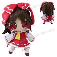 "Touhou Project Hakurei Reimu 26cm/10.4"" Soft Stuffed Plush Doll Toy L Size"