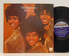 The Supremes        Right on       Motown        USA         VG + # D