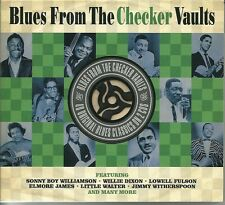 BLUE FROM THE CHECKER VAULTS - 2 CD BOX SET - ELMORE JAMES & MORE