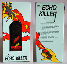VERY RARE VINTAGE 80'S ECHO KILLER ELECTRONIC KEY CHAIN BATTERY TAIWAN NEW MIP !