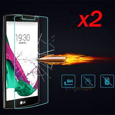 2Pcs 9H Premium Ballistic Tempered Glass Film Screen Protector For LG G4 2015