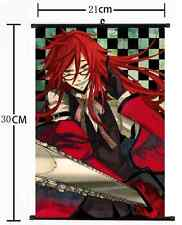 HOT Anime Black Butler Wall Poster Scroll Home Decor Cosplay 1048