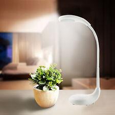 Dimmbar LED Tischlampe Schreibtischlampe Nachttischlampe Leselampe Schwenkbar