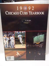 CHICAGO CUBS BASEBALL YEARBOOK - 1992