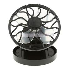 Mini Clip-on Solar Cell Fan Sun Power Energy Panel Camping Cooling Cooler
